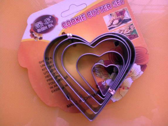 Вырубка кондитерская Сердца, фото 2
