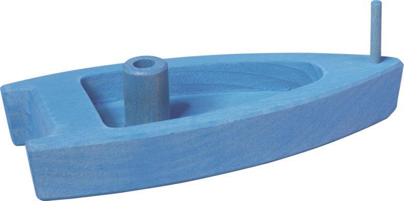 Шлюпка nic деревянная синяя NIC526461