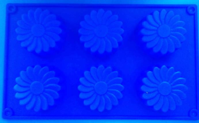 Форма силиконовая Цветы, фото 2