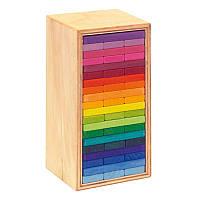 Конструктор nic деревянный Строительные пластины Башня 60 эл. NIC523300