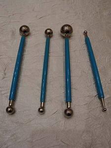 Набор кондитерских инструментов  из 4 -х  металлические.