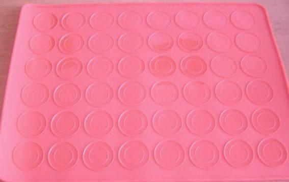 """Силиконовый коврик для выпечки """"Macarons"""" (цвет коврика в ассортименте), фото 2"""