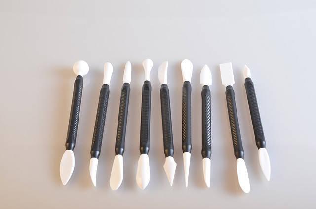 Набор инструментов для мастики из 9шт, фото 2