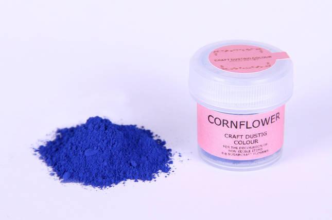 Краска сухая для цветов Sugarflair василек, фото 2