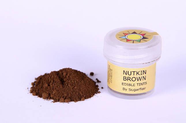 Краска сухая для цветов Sugarflair темно коричневый, фото 2