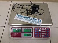 Торговые весы CAMRY CTE-6-JС31 без стойки на 6 кг б/у