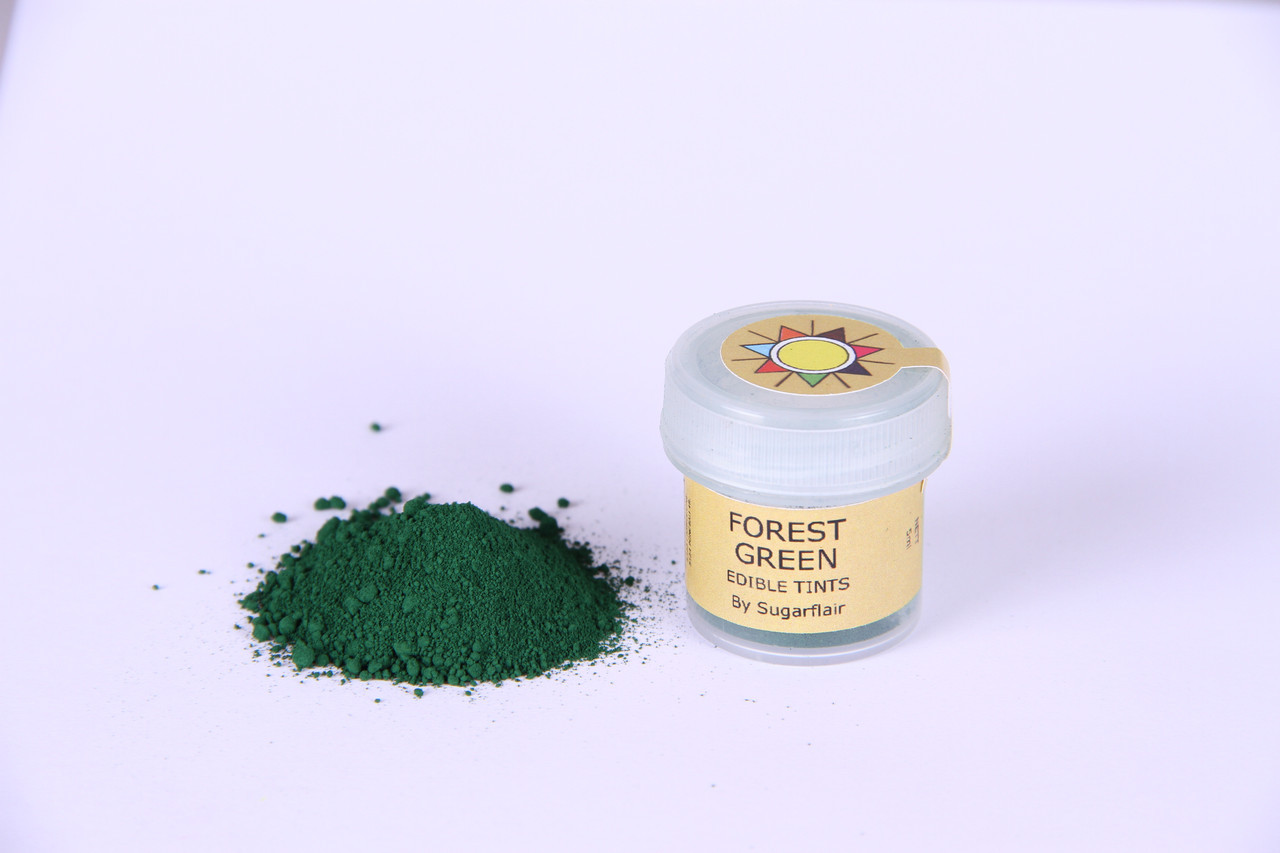 Краска сухая для цветов Sugarflair зеленый лес