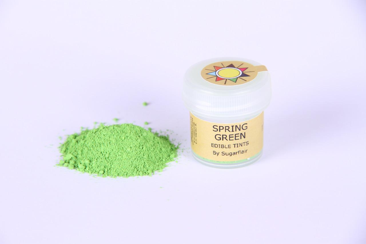 Краска сухая для цветов Sugarflair Светло-зеленый