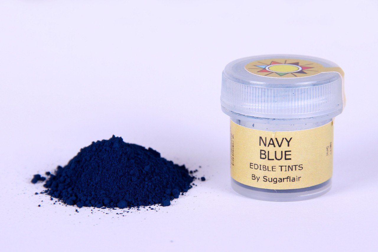 Краска сухая для цветов Sugarflair темно синий