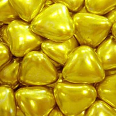 Посыпка кондитерская Сердечки золото,  50 грамм, фото 2