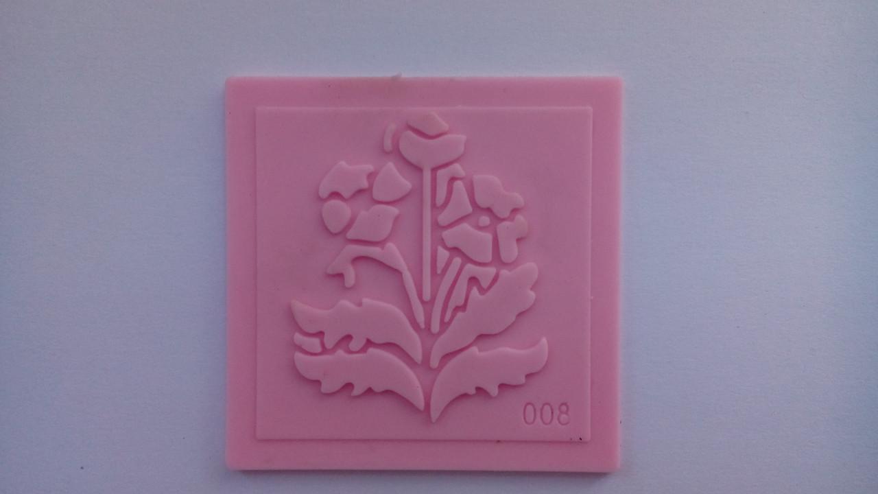 Молд-штамп для айсинга и мастики цветы 3
