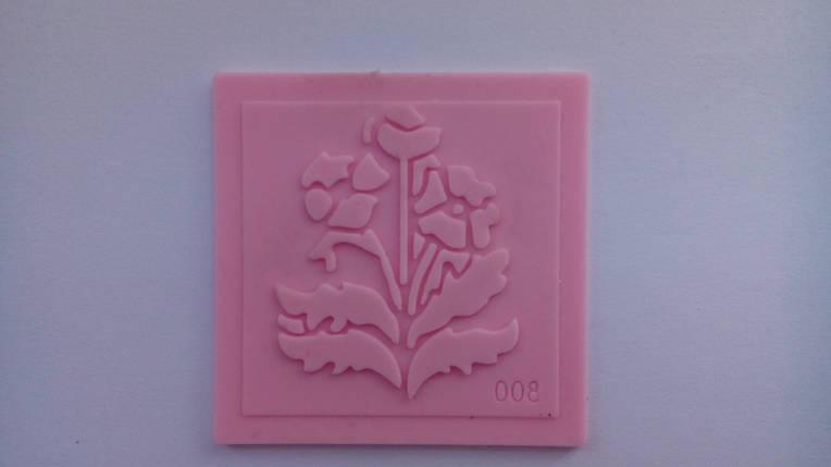 Молд-штамп для айсинга и мастики цветы 3, фото 2