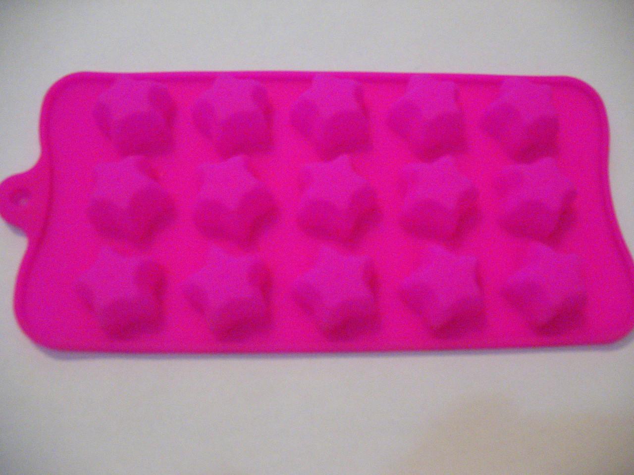 Форма силикон для конфет Звезды
