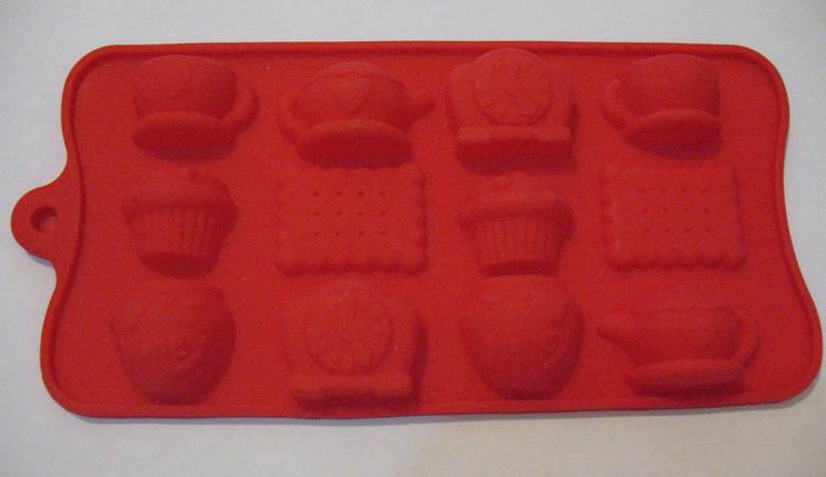 Форма силикон для конфет Сказочный завтрак, фото 2