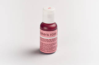 Гелевый краситель Chefmaster Нежно розовый (Bakers Rose) 21 грамм