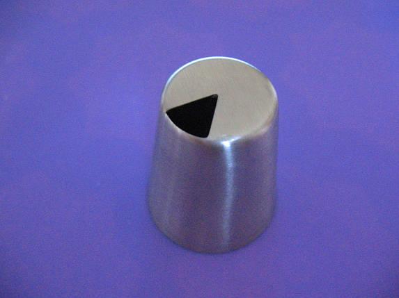 Насадка кондитерская метал. Листик 12 БЕСШОВНАЯ, фото 2