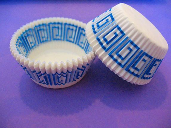 Тарталетки (капсулы) бумажные для кексов, капкейков Греция 3, фото 2