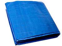 Тент строительный синий 65г/1м2 MASTERTOOL