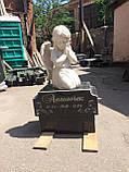 Памятник детский с ангелочком №45, фото 3