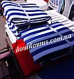 Матрас для шезлонга-лежака 180*60*3 см, Украина, полоска, фото 4