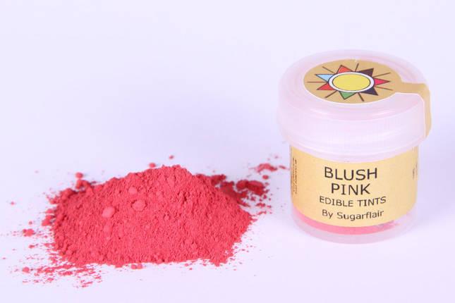 Краска сухая для цветов Sugarflair Розовый румянец, фото 2