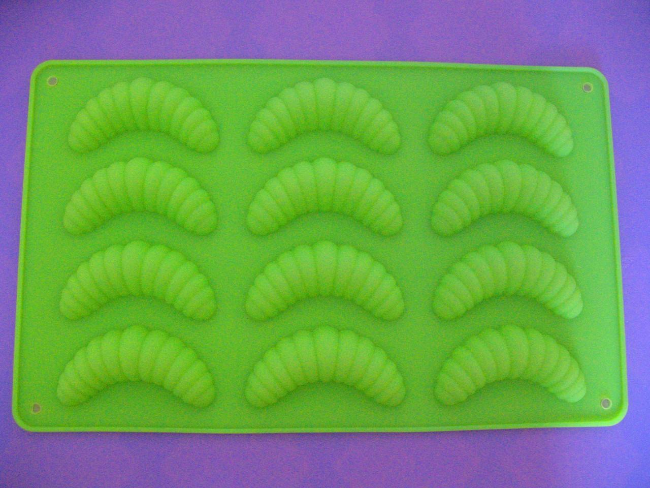 Форма силиконовая Червячки
