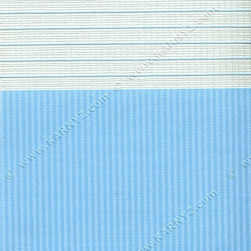 Рулонні штори День-Ніч Софт Z-658 блакитний