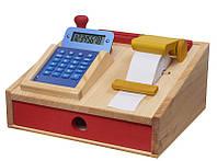 Игровой набор nic деревянный кассовый аппарат NIC528735