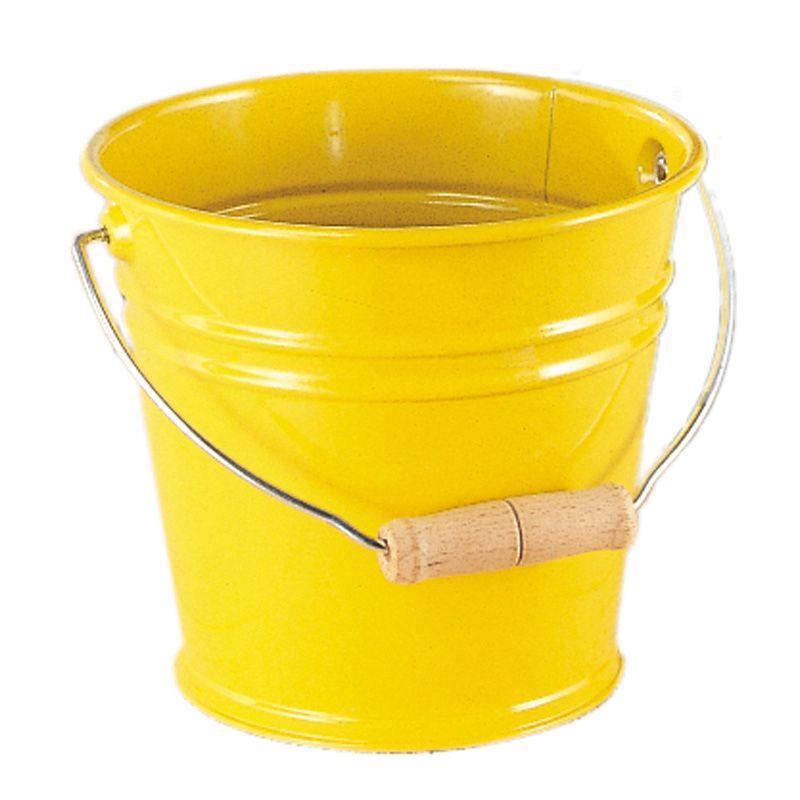 Ведро металлическое nic желтое NIC535057
