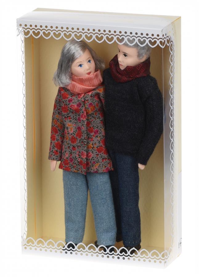 Набор кукол nic Бабушка и дедушка NIC31311