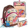 Набор для девочки начальной школы Kite Popcorn the Bear PO18-521S