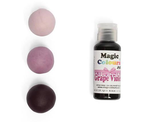 Гелевый краситель Magic Colours Фиолетовый  (Grape Violet) 32 грамма, фото 2