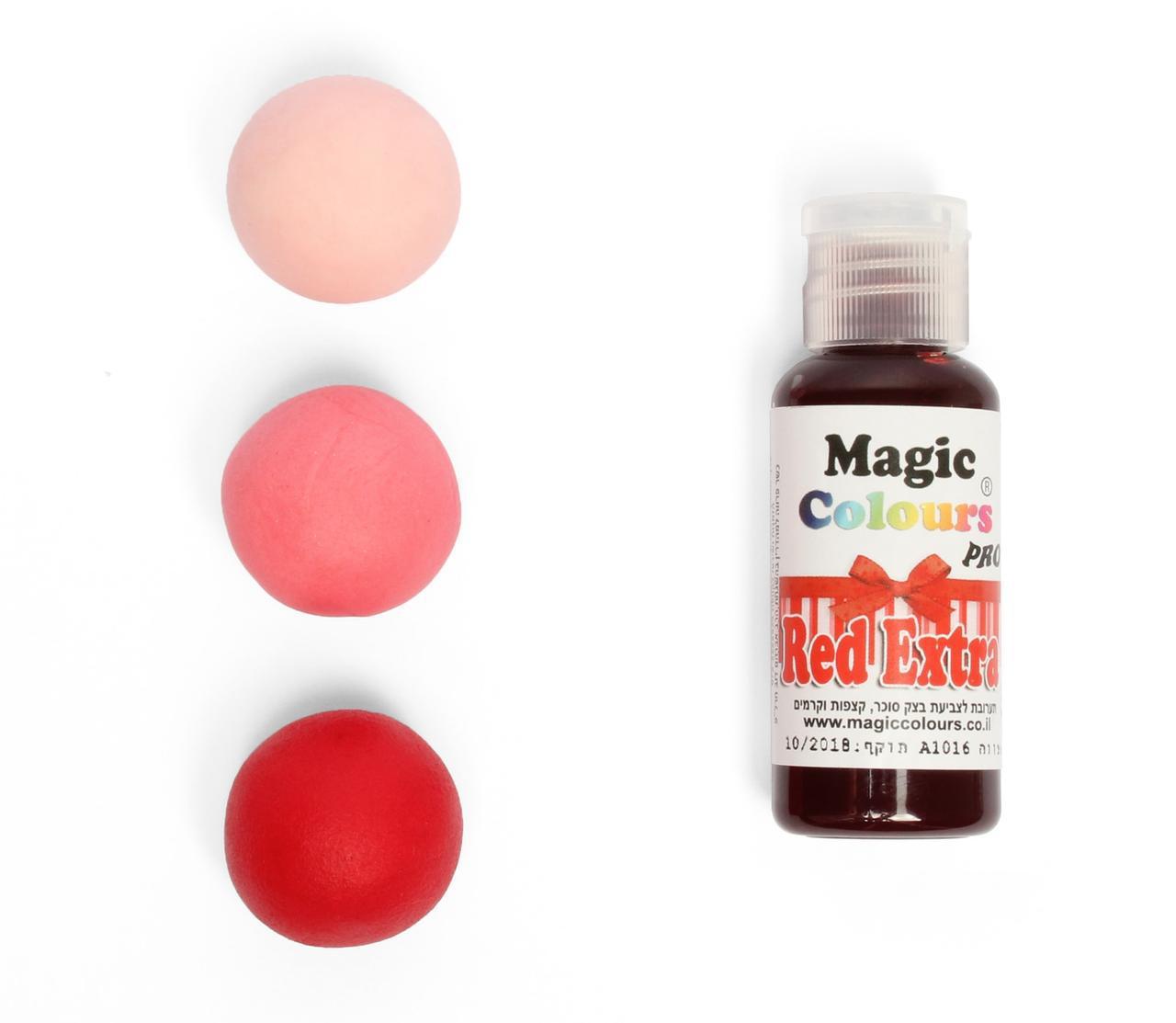 Гелевый краситель Magic Colour Супер красный (Red Extra) 32 грамма