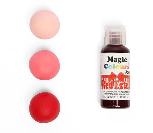 Гелевый краситель Magic Colour Супер красный (Red Extra) 32 грамма, фото 2