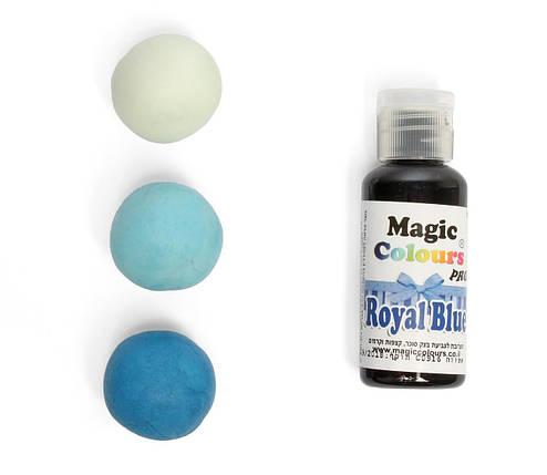 Гелевый краситель Magic Colour Королевский синий (Royal Blue) 32 грамма, фото 2
