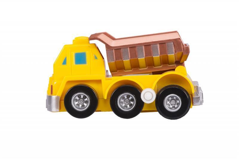 Заводная машинка goki желтая 13219G-2