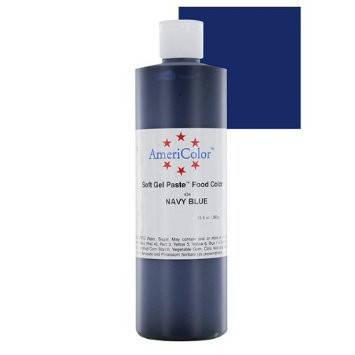 Краситель гелевый AmeriColor (Америколор)  Темно синий 128 г, фото 2