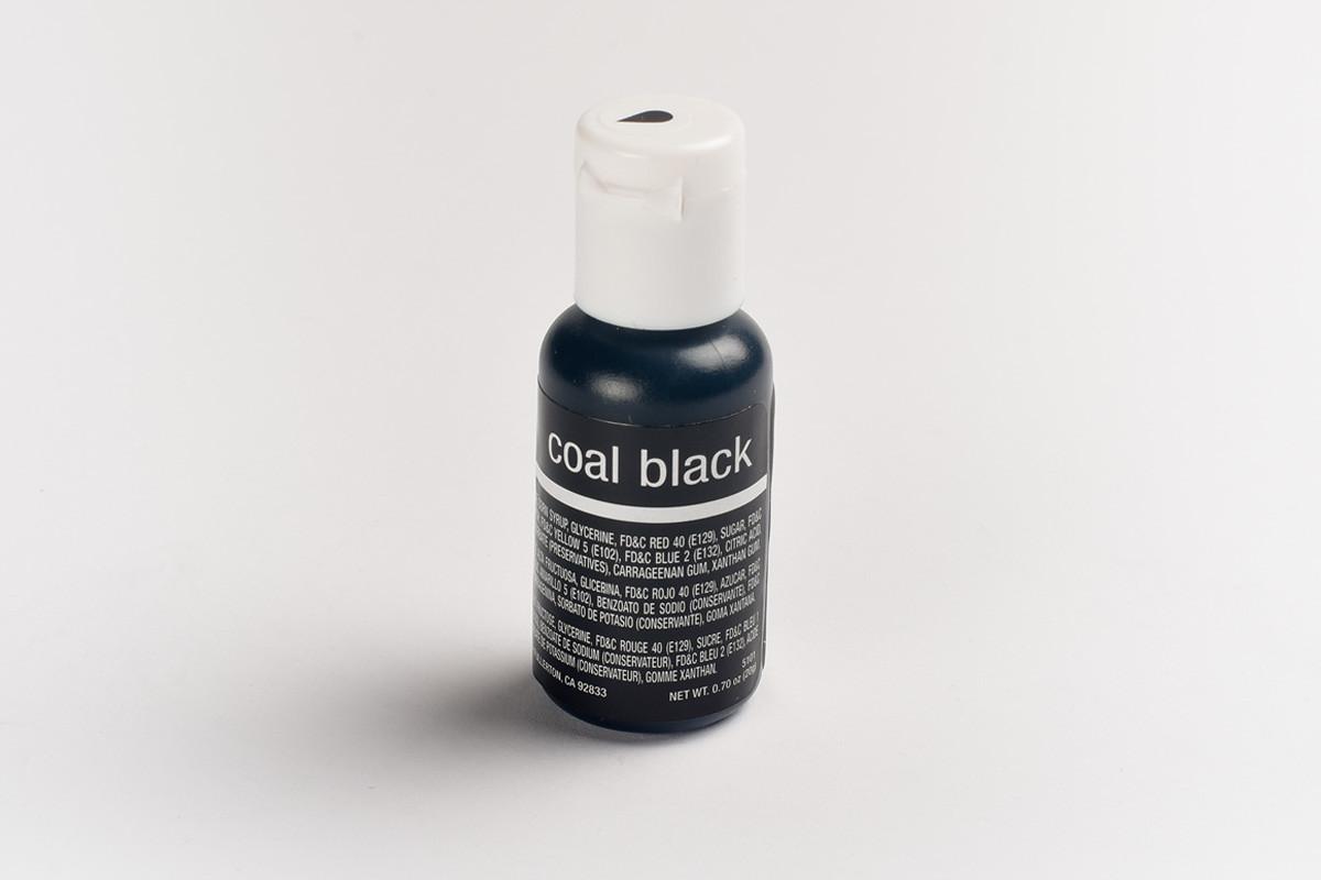 Гелевый краситель Chefmaster Супер черный ( Coal Black ) 21 грамм