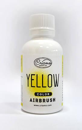 Краситель для аэрографа Criamo Желтый 60 грамм, фото 2