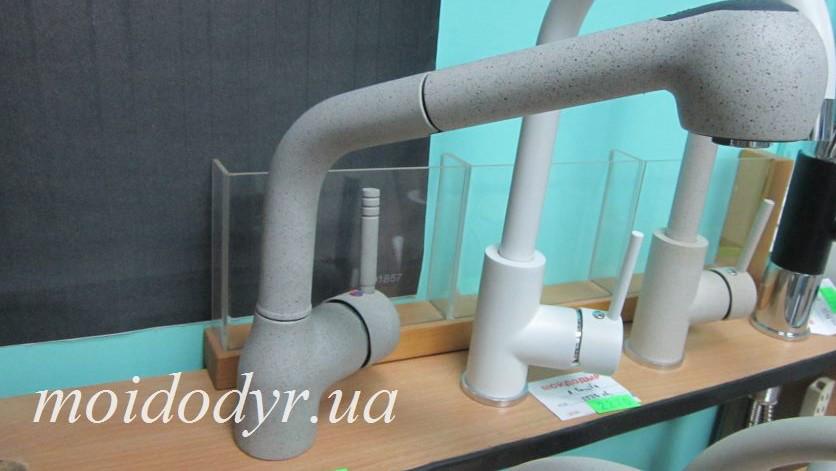 Смеситель для кухни с выдвижным душем Pyramis Balata