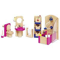 Набор для кукол goki Мебель для ванной 51748G