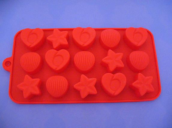 Форма силикон для конфет Любовь в Китае, фото 2