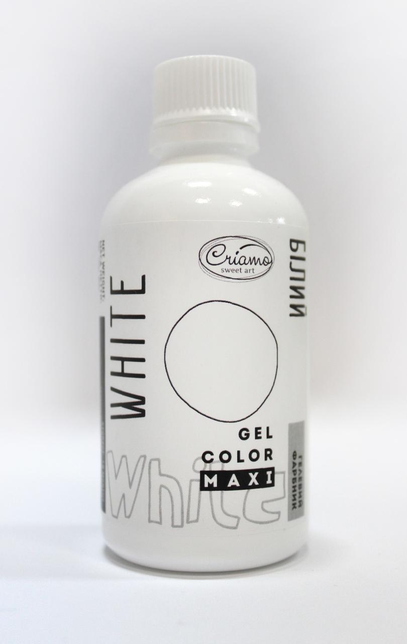 Гелевый краситель Criamo Белый 125 грамм
