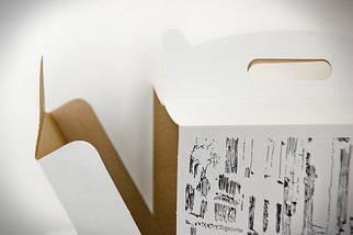 Картонная коробка для торта с Рисунком 3 штуки (300*300*300 мм)