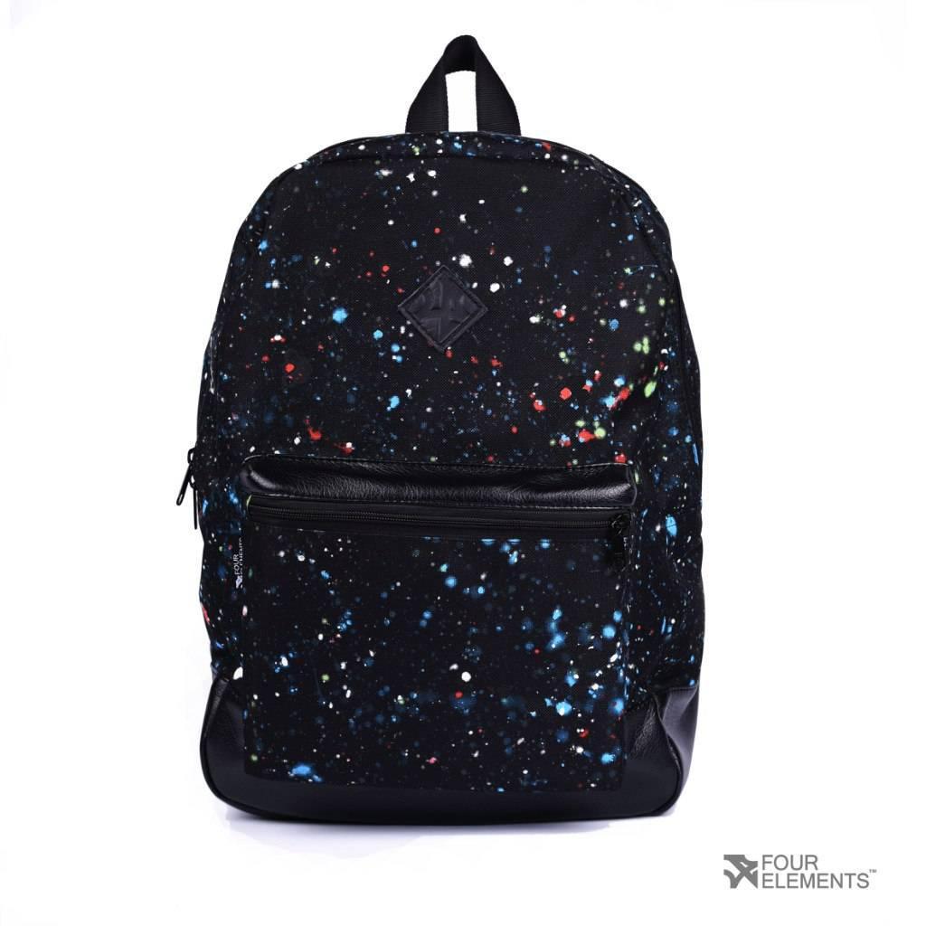 9a19f82e Черный рюкзак с цветными точками 4Elements - Магазин мужского нижнего белья  и аксессуаров MenBox в Киеве