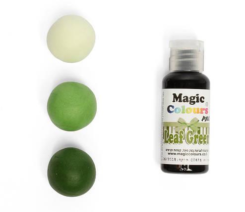 Гелевый краситель Magic Colour Зеленый лист (Leaf Green) 32 грамма, фото 2