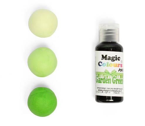 Гелевый краситель Magic Colours  Зеленый сад (Garden Green) 32 грамма, фото 2