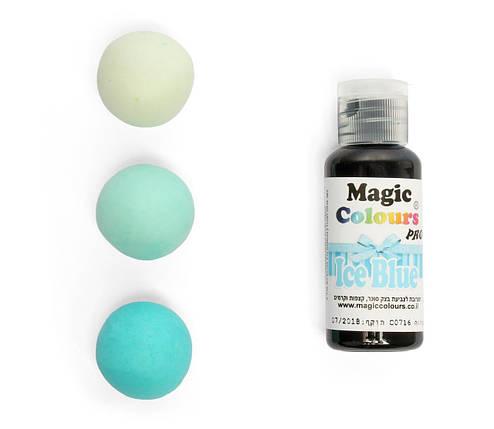 Гелевый краситель Magic Colours Голубой  (Ice Blue) 32 грамма, фото 2