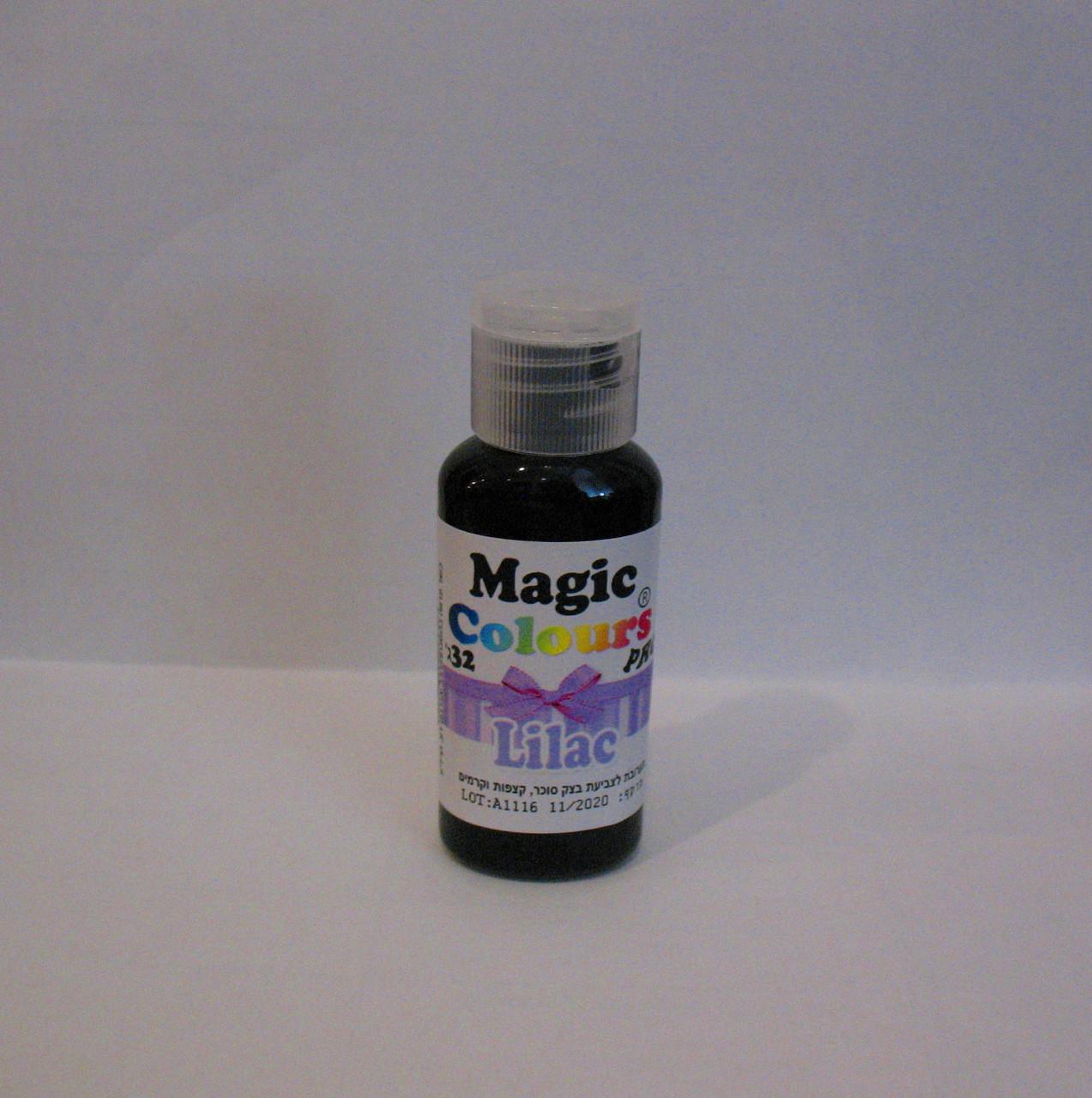 Гелевый краситель Magic Colour Сиреневый 32 грамма