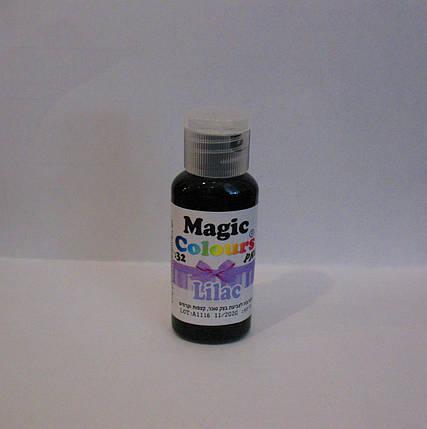 Гелевый краситель Magic Colour Сиреневый 32 грамма, фото 2